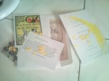 Handmade Oz wedding invitations for $1.01!! YES!!!! I said it!