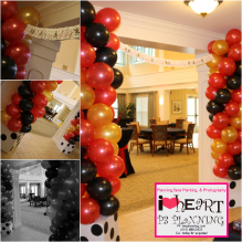 Custom balloon Columns - 2015