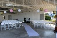 Ceremony Decor at Kure Beach NC - 2014