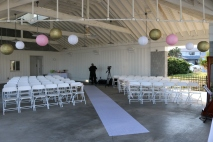 Ceremony Decor at Kure Beach NC - 2014