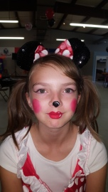 Minnie Mouse for Halloween